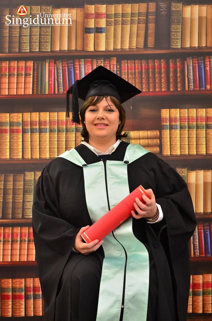 Svecana dodela diploma - Biblioteka FTHM 2017 -5