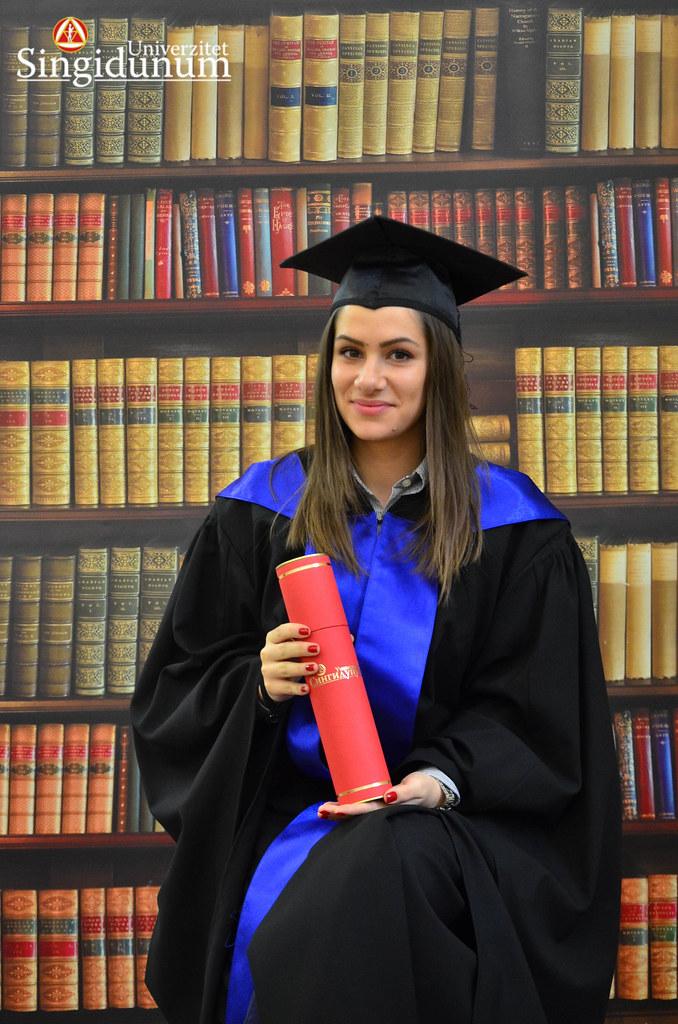 Svecana dodela diploma - Biblioteka PFB 2017 -1
