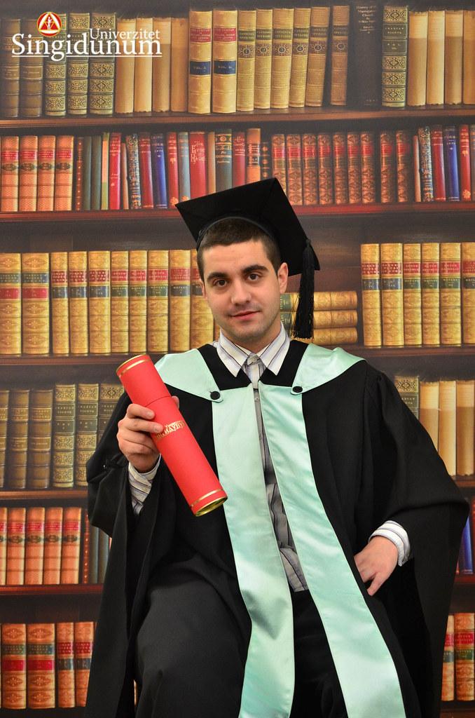 Svecana dodela diploma - Biblioteka FTHM 2017 -19