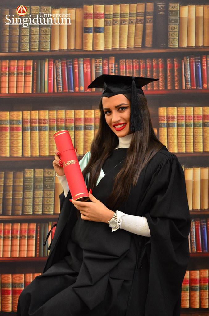 Svecana dodela diploma - Biblioteka FTHM 2017 -17