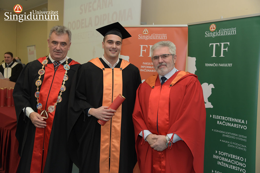Svecana dodela diploma - FIR I TF - Amfiteatar - 2017 - 17