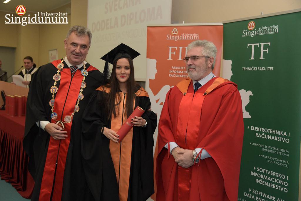 Svecana dodela diploma - FIR I TF - Amfiteatar - 2017 - 14
