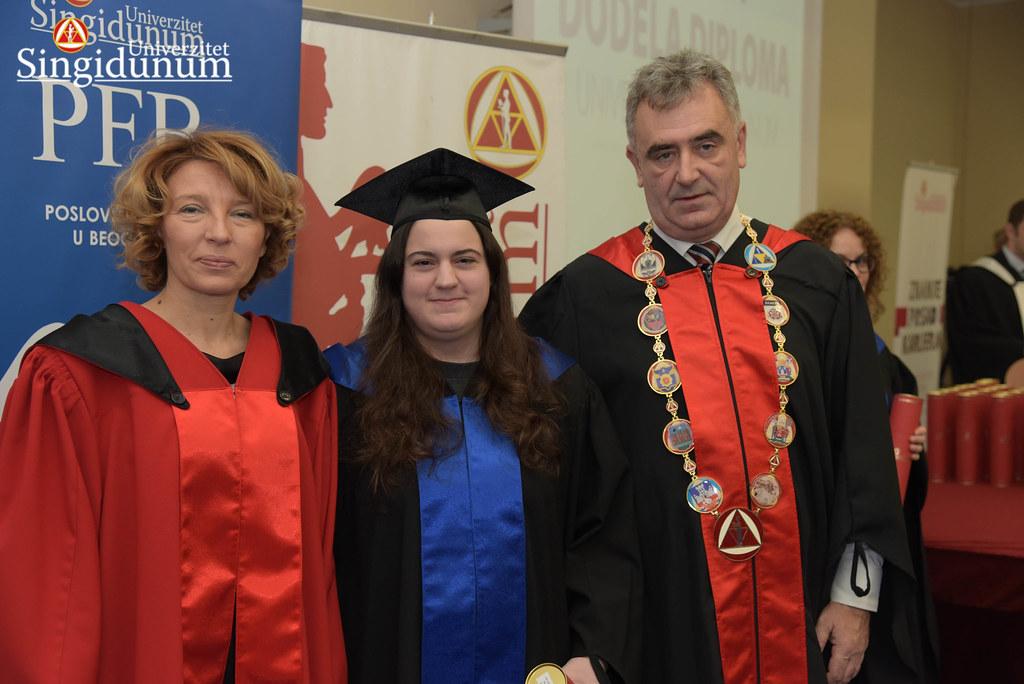 Svecana dodela diploma - Amfiteatar - PFB - 2017 - 41