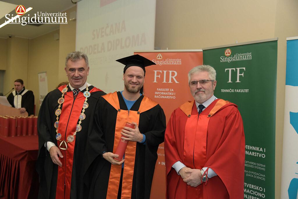 Svecana dodela diploma - FIR I TF - Amfiteatar - 2017 - 8