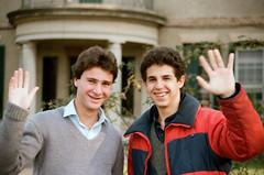 Flavio y Fede en San Jorge