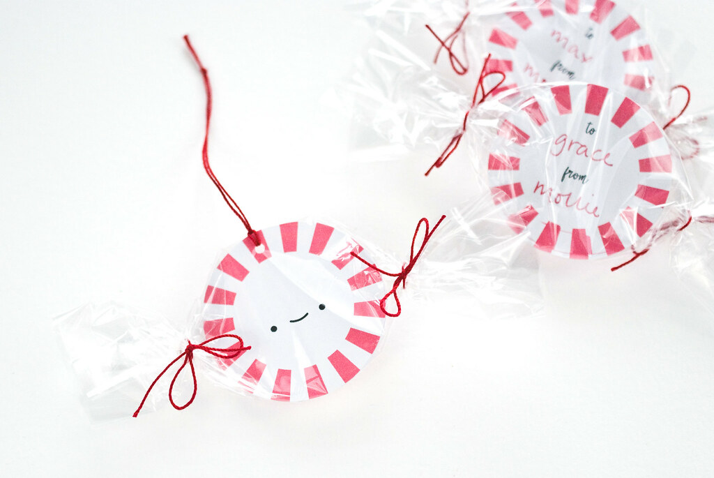 Printable Starlight Mint Gift Tags
