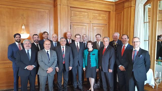 Encuentro del GRULAC con el jefe de la división de las Américas de la cancillería de Suiza