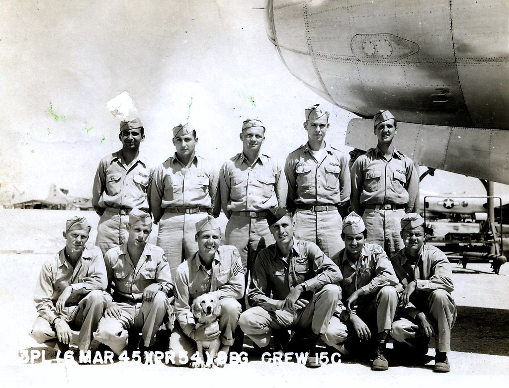 B-29 And Crew