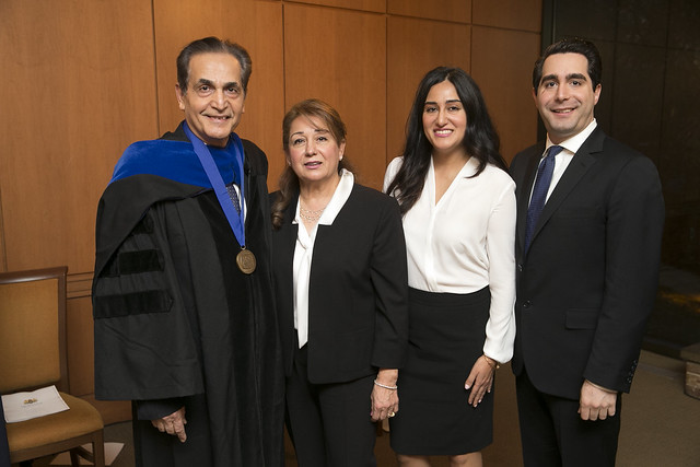 Dr. Ehsan Nikbakht, DBA, CFA Installed as The C.V. Starr Distinguished Professorship in Finance and International Financial Services