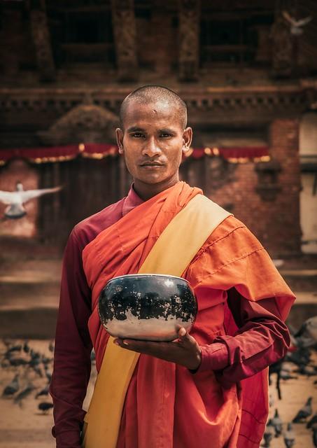 Nepalese-monk-in-Durbar-square-Kathmandu-1200x1696