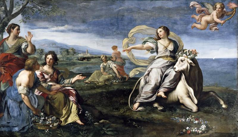 Carlo Maratta - The Rape of Europa (c.1683)