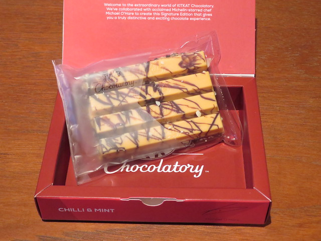 London Kit Kat Chocolatory - Chilli & Mint