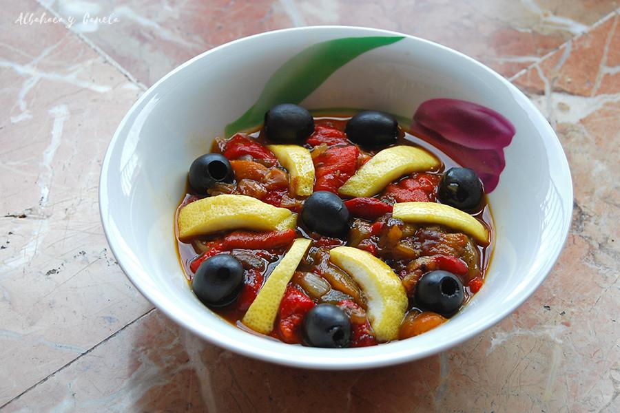 Ensalada marroquí de pimientos