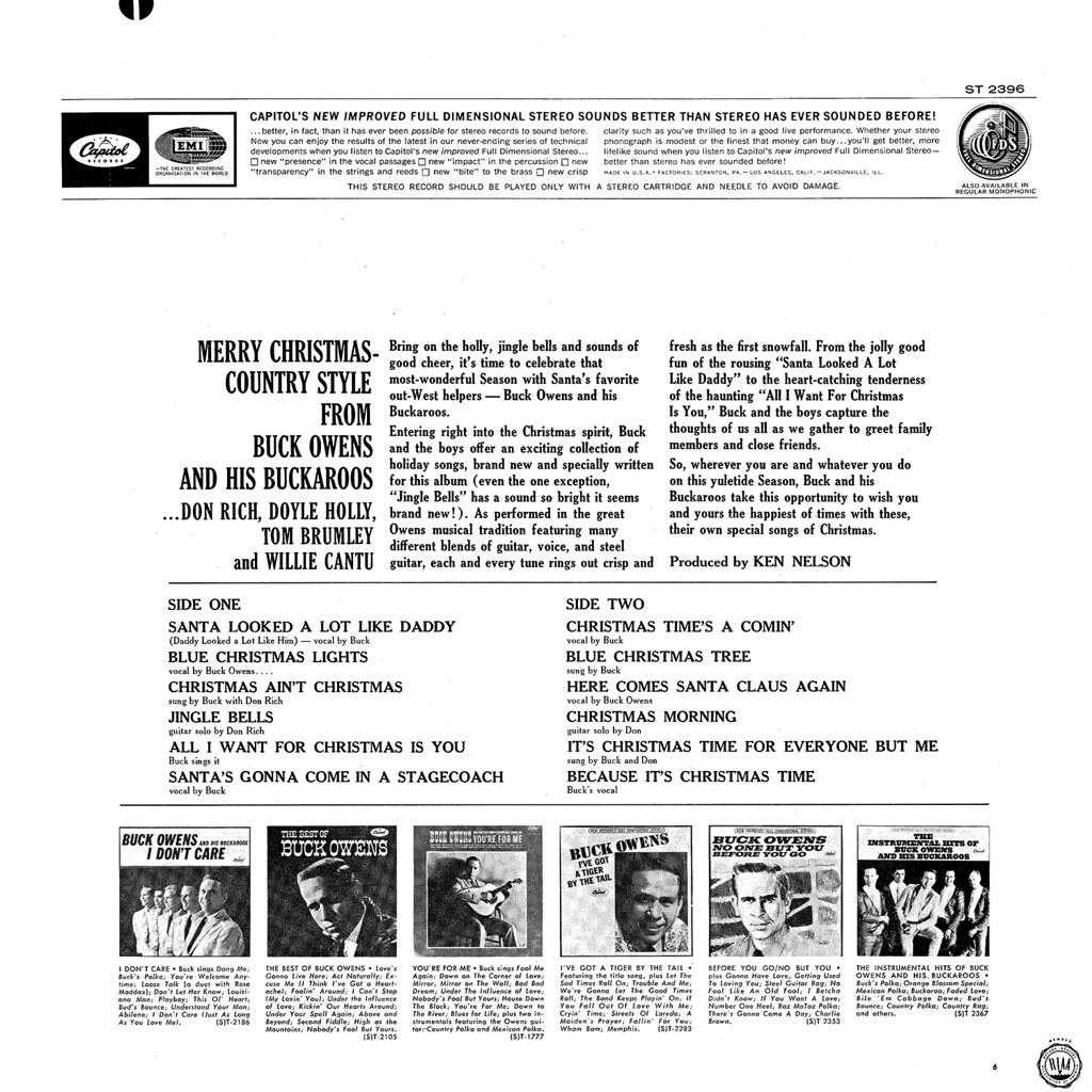 Buck Owens - Christmas with Buck Owens and his Buckaroos