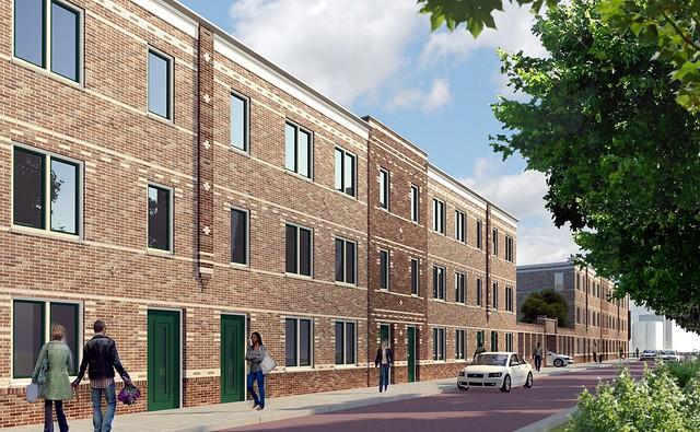 Putsebocht 50 woningen opgeleverd nieuwbouw architectuur for Nieuwbouw rotterdam huur