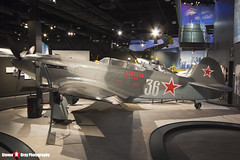 36 White - Russian Air Force - Yakovlev Yak-9U - The Museum Of Flight - Seattle, Washington - 131021 - Steven Gray - IMG_3716