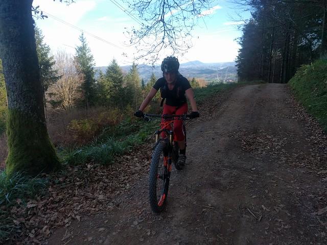 Fin de semana por Zarautz. 2 Rutas en mountain bike