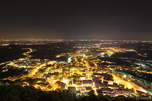 Borgo Maggiore at night