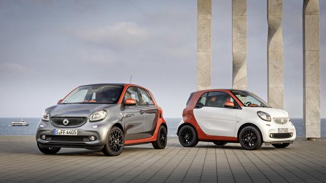 Mercedes-Benz Fahrveranstaltung smart fortwo Barcelona 2014