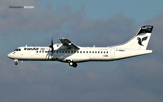 ATR.72-600 IRAN AIR F-WWEX 1386 TO EP-ITA 05 01 17 TLS