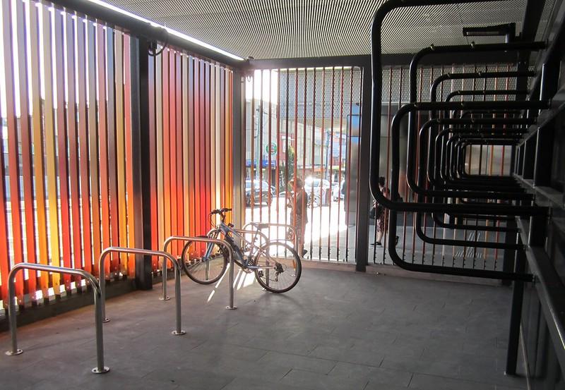 McKinnon station Parkiteer bike cage
