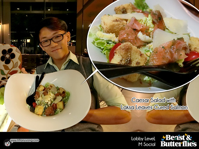 M Social Beast and Butterflies Christmas Salad Peps Goh