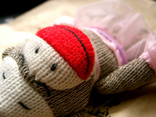 Sock Monkey Paper Crafts