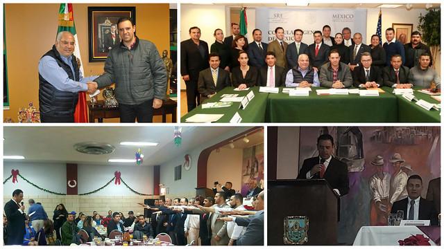 Visita del Gobernador constitucional de Zacatecas al Medio Oeste de EUA