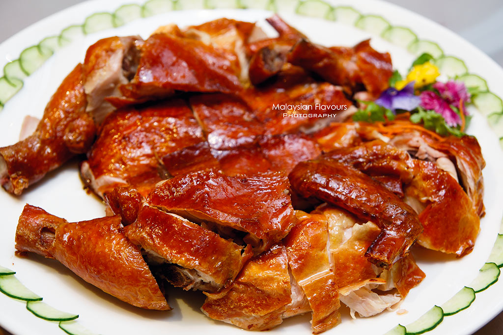 Shang Palace marinated crispy pipa chicken