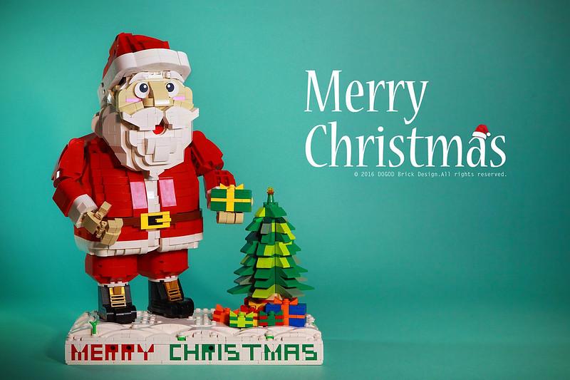 【狗神磚創Moc】聖誕老公公 X Santa Claus