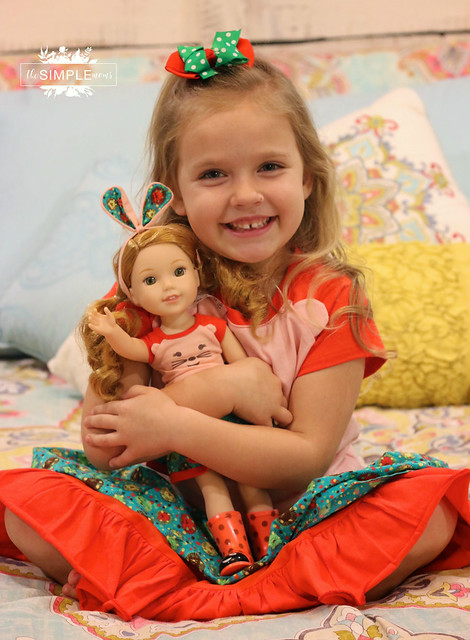 American Girl Willa from the WellieWishers line