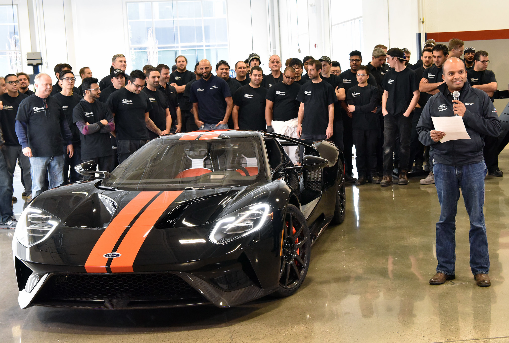 Ford starts deliveries of Ford GT supercar