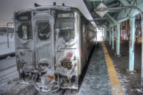 Nayoro Station on JAN 07, 2017 (10)