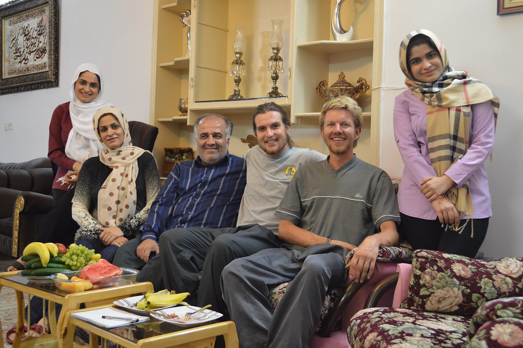 Our final amazing Iranian hospitality