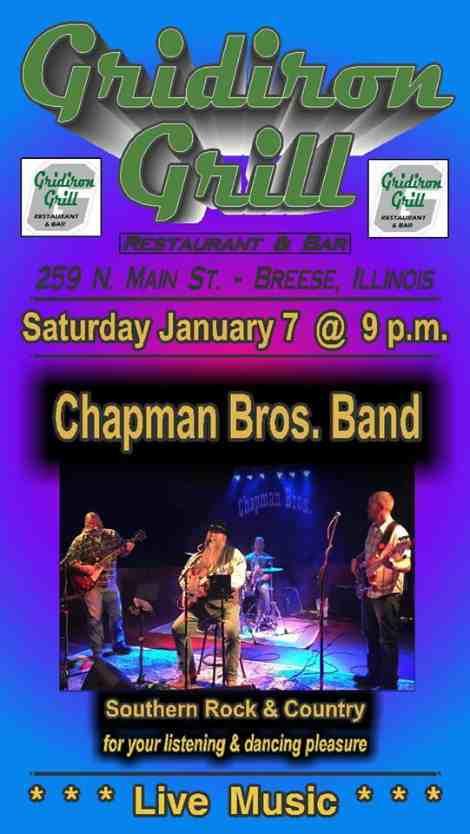 Chapman Bros 1-7-17
