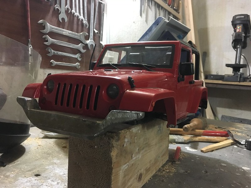 Jeep jk , first handmade , final modelex