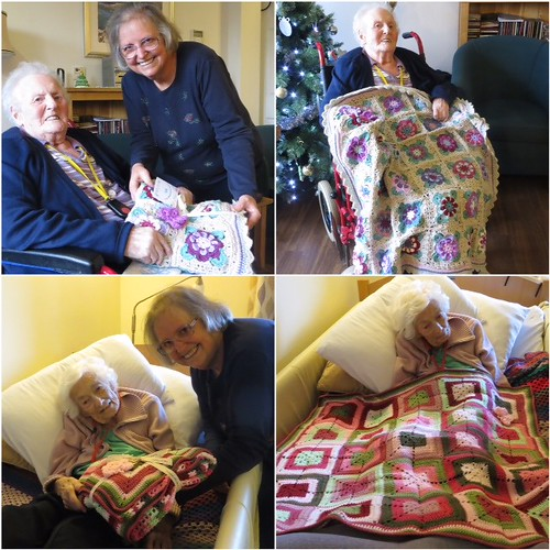 14 Sunshine Blankets delivered to Rothsay Grange, Andover thank you.