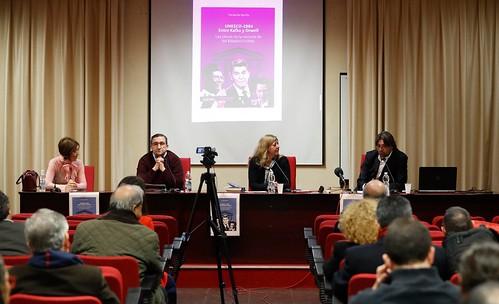 """Madrid │ Ediciones CIESPAL presentó el libro """"UNESCO-1984. Entre KAFKA y ORWELL. La clave de la retira de los Estados Unidos"""""""
