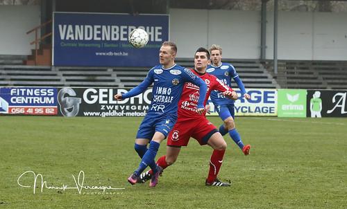 Gullegem - Knokke 1-3 (08-01-2017).