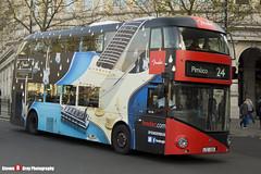 Wrightbus NRM NBFL - LTZ 1100 - LT100 - Fender American Elite Series - Pimlico 24 - Metroline - London - 161126 - Steven Gray - IMG_4501