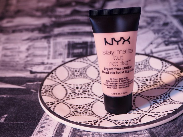 NYX Stay Matte But Not Flat Foundation Review