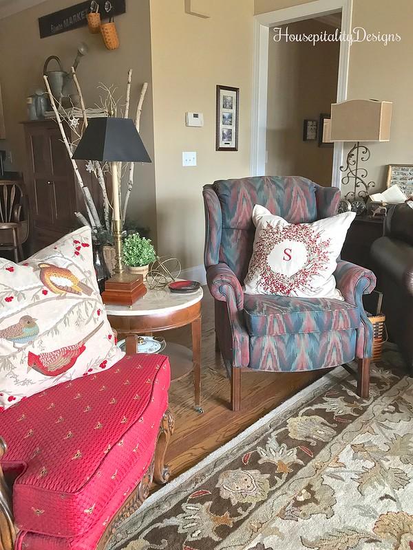 Media Room-Pottery Barn Pillows-Housepitality Designs