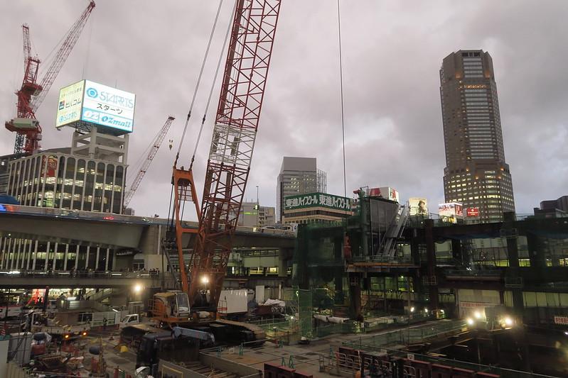 渋谷駅2016年暮れ