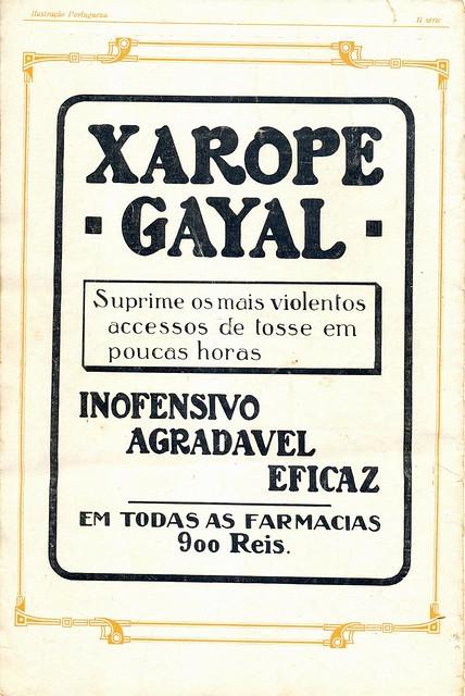 Ilustração Portugueza, nº 456, 1914 - back cover