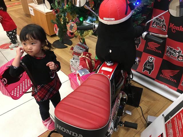 熊本熊騎 HONDA 檔車