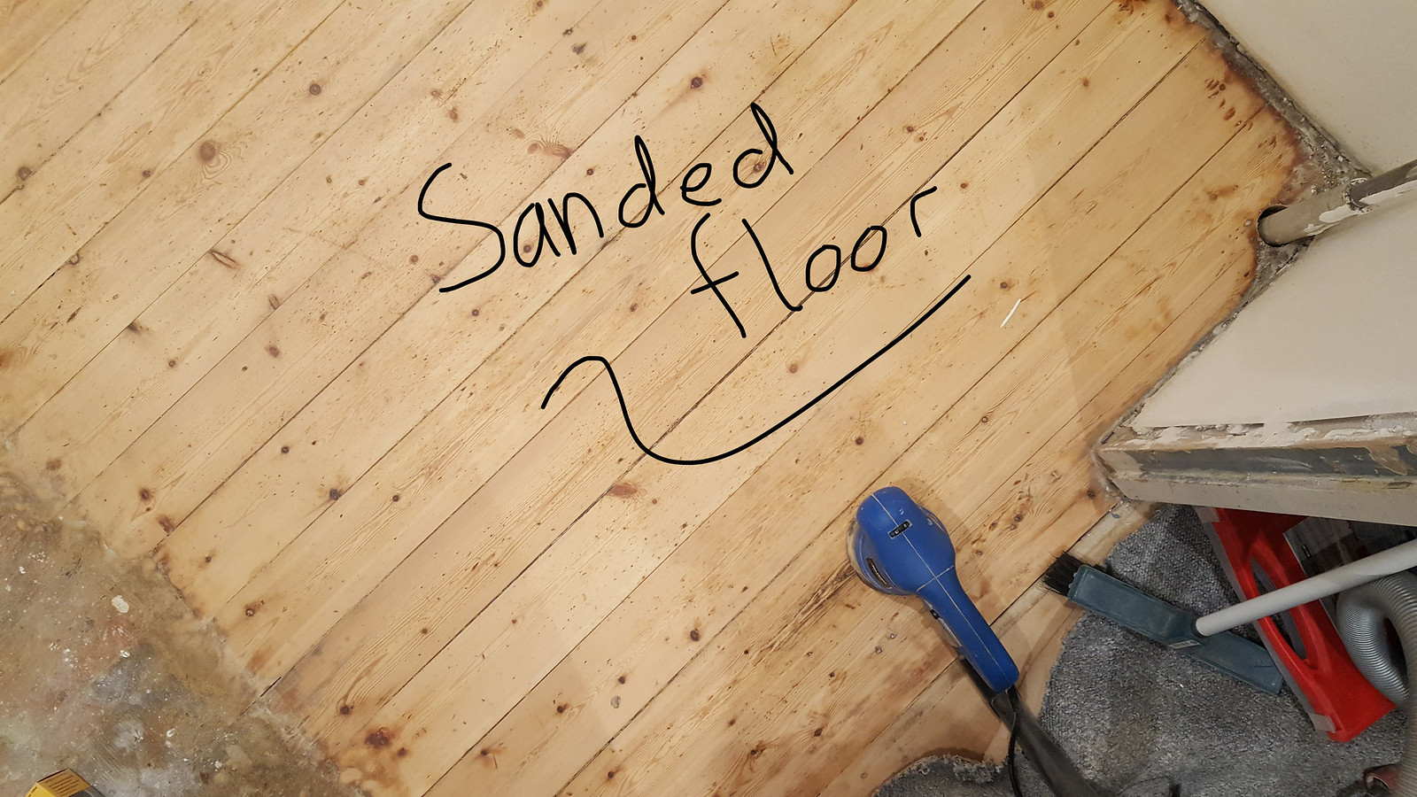 Cleaning and Treating the Floor