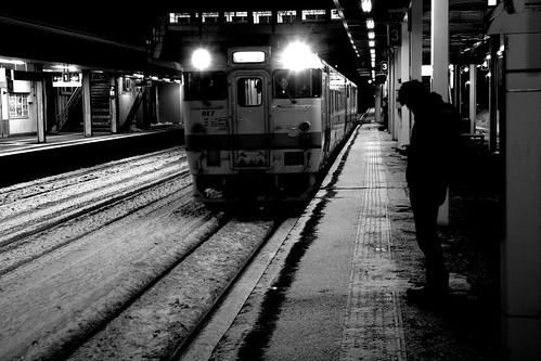 Atsubetsu Station in Sapporo on JAN 02, 2017 (3)