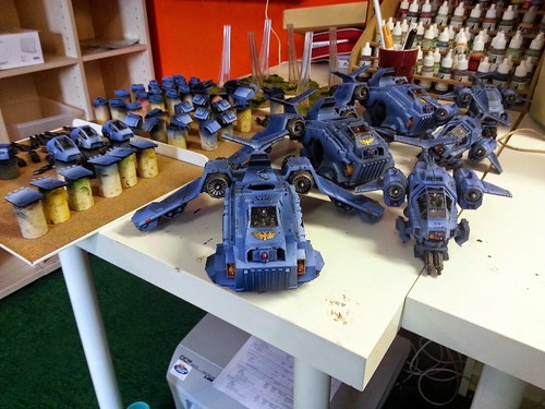 WH40K - Ultramarines Stormtalons & Ravens