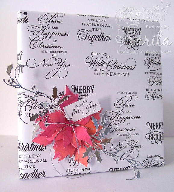 DIY Christmas gift wrap 1a