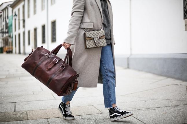 look para viajar maleta de piel bolsos y corbatas vans sk8